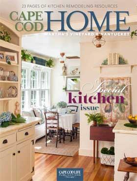 Cape Cod Home featuring Casabella Interiors