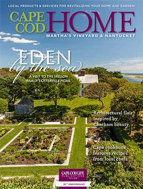 Casabella Interiors featured in Cape Cod Home Spring 2014