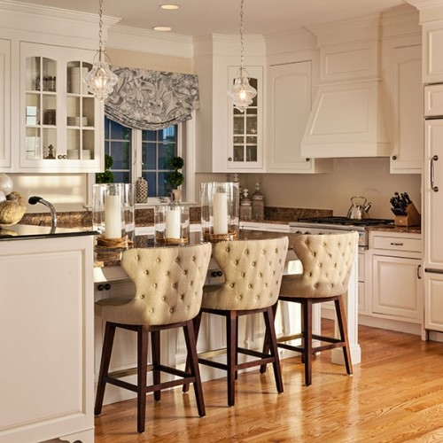 ... kitchen bench seating in Hingham MA